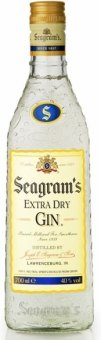 Gin Extra Dry Seagram's