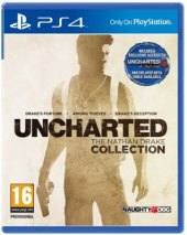 Hra PS4 Uncharted: The Nathan Drake Colection