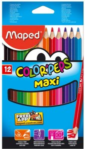 Pastelky Maped Color´Peps MAXI