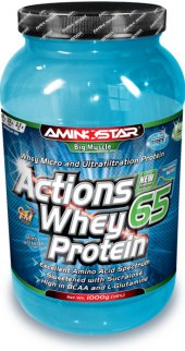 Protein 65% Actions Whey Aminostar