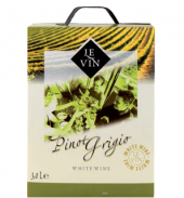Víno Pinot Grigio Le Vin - bag in box