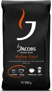 Zrnková káva Jacobs Medium Roast